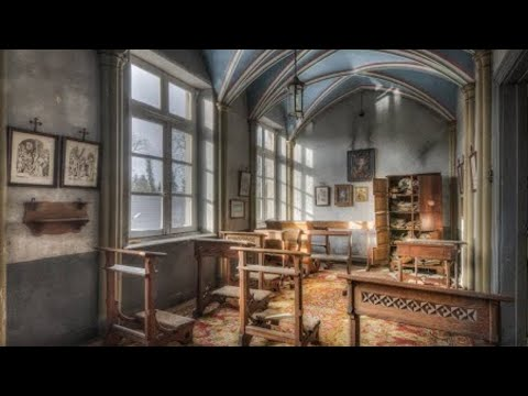 Untouched ancient chapel inside of an abandoned castle [germany]