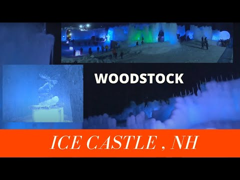 Ice castles new hampshire opening day 2021   horse sleigh rides, snow tubing, snow slides nh