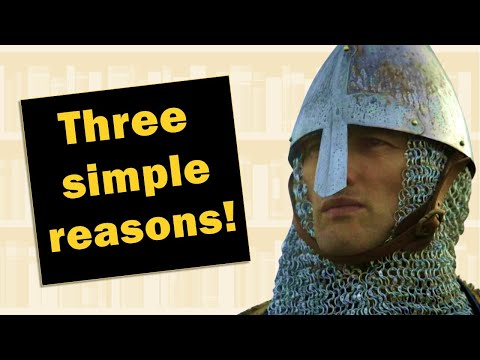 The 3 reasons that normans build wooden castles | big history in less than 60 seconds! #shorts