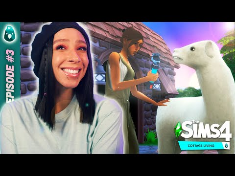 Sims 4 cottage living! 🐰🐰 rags to riches #3
