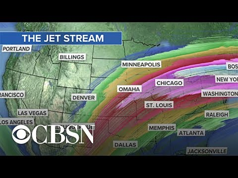 Super strong jet stream recorded as another winter storm approaches