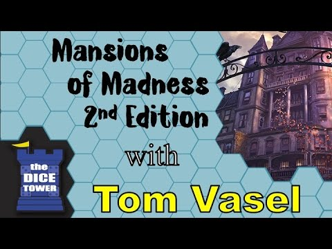Mansions of madness 2nd edition review - with tom vasel