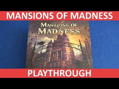 Mansions of madness second edition - full playthrough - part 1