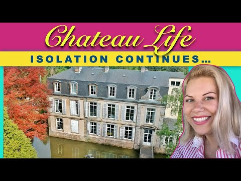 Chateau life 🏰 ep 9; isolation continues...