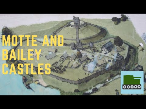 What are motte and bailey castles?