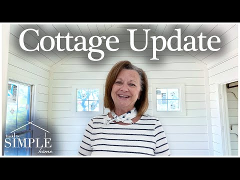 Building a cottage in the country - cottage update