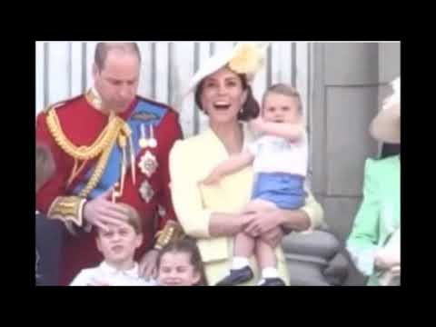 Trooping of the colour louis on the balcony (part two)