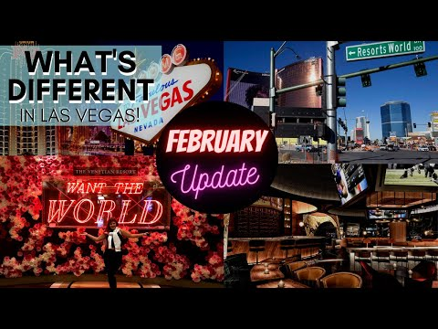 What's different in las vegas? february reopening update! 😍 major news! hotels & more!