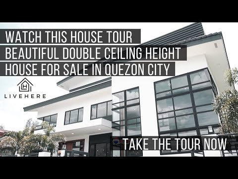 House for sale in quezon city - a luxury 6 bedroom home is in the market!