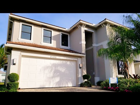 New construction luxury model home tour | 6 bedroom lake worth | south florida home for sale