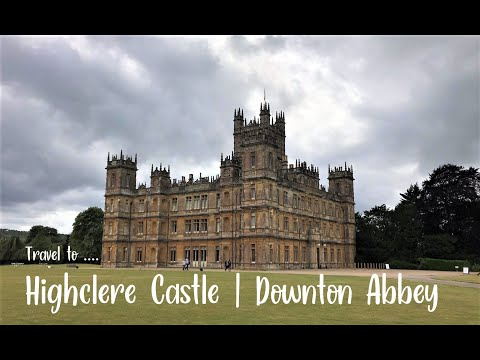 Travel to highclere castle (downton abbey)