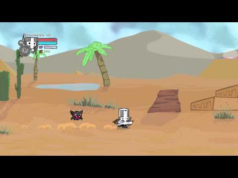 Castle crashers: how to find a giraffe