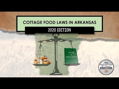 Cottage food laws in arkansas   2020 edition