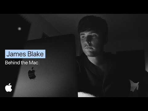 Behind the mac — james blake cuts his latest track at home