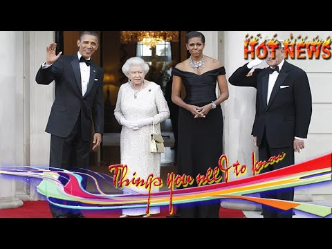 Breaking news one - michelle obama reveals all about 'sleepover' at buckingham palace