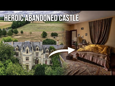 Heroic abandoned castle in france dating back to the renaissance era   we explored it!