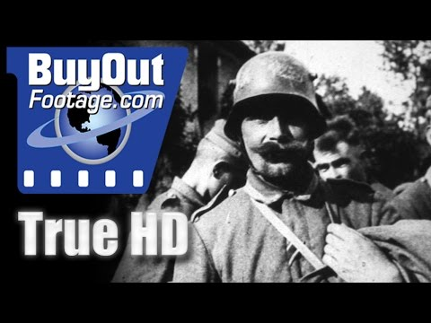 Wwi - chateau thierry and the aisne-marne operation 1918, historic hd footage