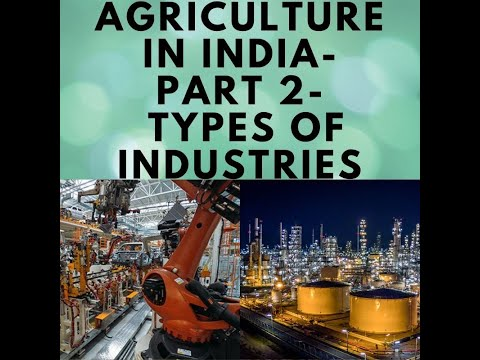 Types of industries/ industries in india