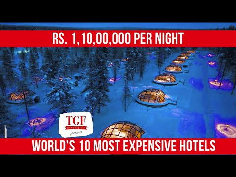 World's most expensive hotels! what will 1,50,000 usd will get you! luxury hotels - get amazed!