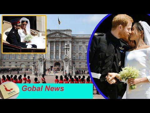 Meghan markle and prince harry will not appear together on buckingham palace's balcony..why?