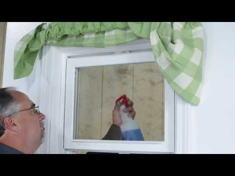 Tilt-in sash for easy cleaning of a single hung window