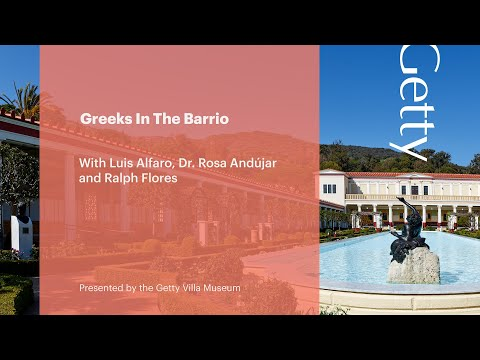 Greeks in the barrio - a conversation with luis alfaro