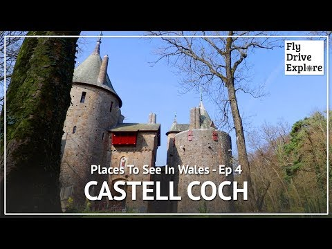 Castell coch, the fairy tale castle near cardiff - places to see in wales ep 4