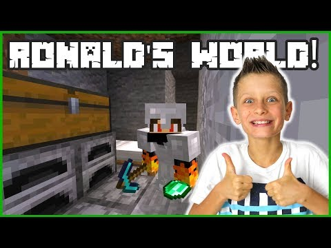 Back to the beginning in ronald's world!