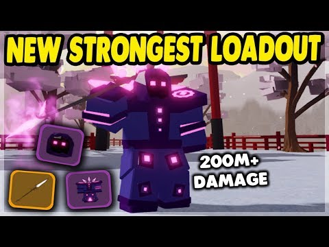 The *best* possible mage loadout in samurai palace | roblox: dungeon quest