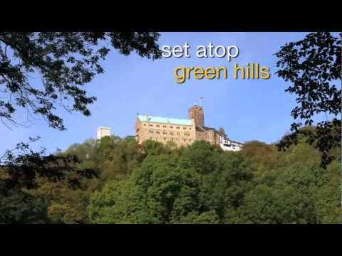 Germany travel attractions - visiting wartburg castle