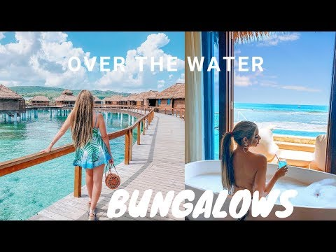 Over the water bungalows in jamaica | dream vacation celebrating 27th birthday