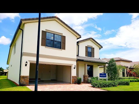 S of west palm beach new construction home | lake worth luxury model tour south florida home sale
