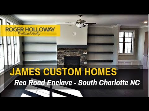 Rea road enclave from james custom homes - charlotte nc