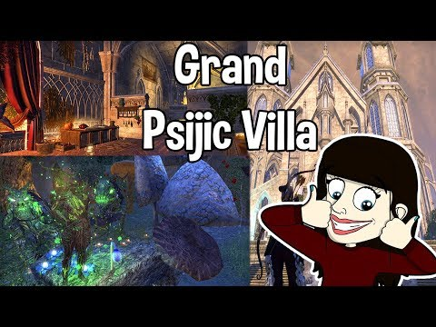 Eso - grand psijic villa tour fully furnished (no commentary)