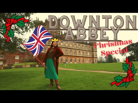Christmas special: a glimpse of downton abbey (highclere castle) | rizzy tips