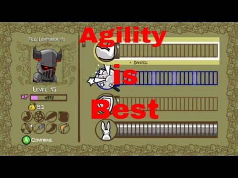 Castle crashers remastered maxed speed vs all bosses