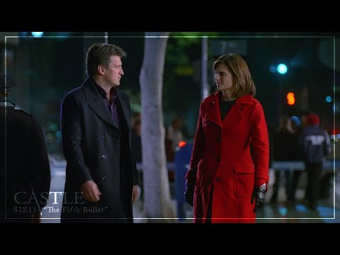 """Castle 2x11: the fifth bullet    """"what am i, your wife?"""" [1080p hd/cc]"""