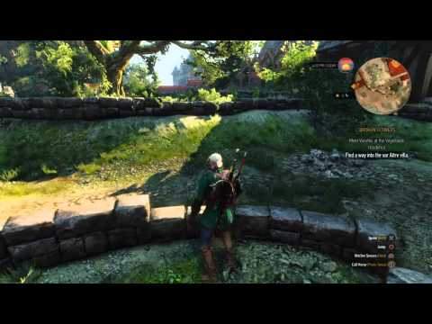 """The witcher 3: how to """"find the way into the war attre villa"""""""