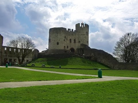 Famous ghost caught on camera at haunted dudley castle