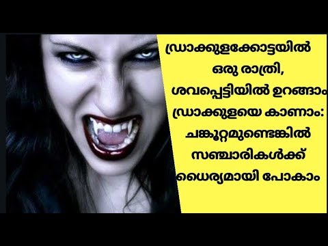 One night in dracula fort, you can sleep in the coffin and see dracula   malayalam   rock bull media
