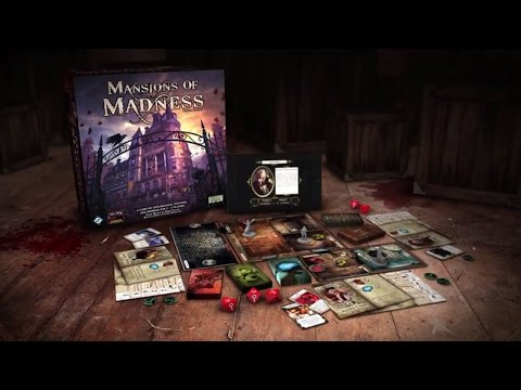 Let's play mansions of madness 2nd edition - 16 - turn 15 - space puzzle and insanity!