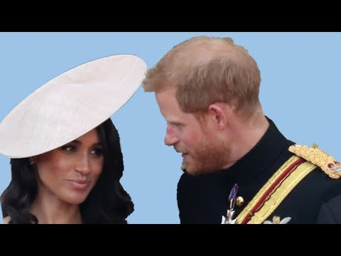 Lip reader said what meghan had told prince harry on the buckingham palace balcony