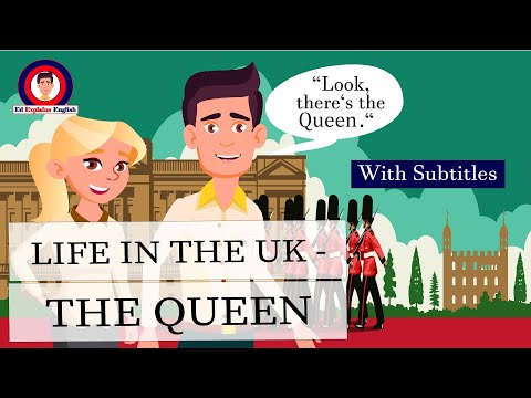 Learn english through short stories - the queen