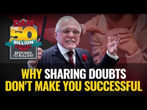 Why sharing doubts don't make you successful   dan responds to bullshit