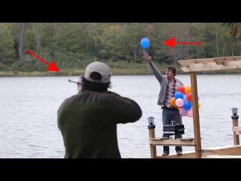 We put a cottage twist on skeet shooting!   brojects: the webisodes