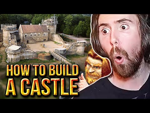 Asmongold & mcconnell learn how to build a castle