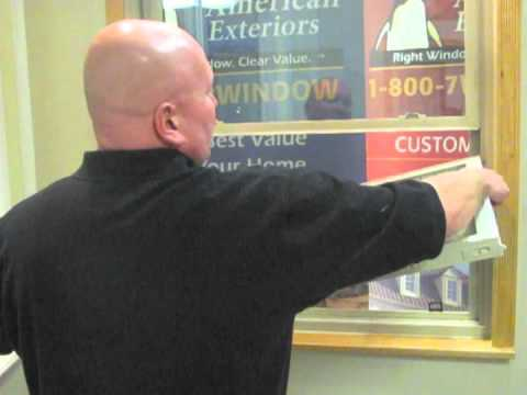 How to properly remove and replace your single hung window sash